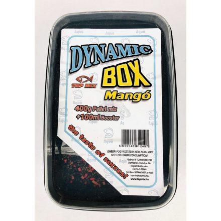 PELLET Box Dynamic Top Mix Mangó 400gr pellet+100ml adalék