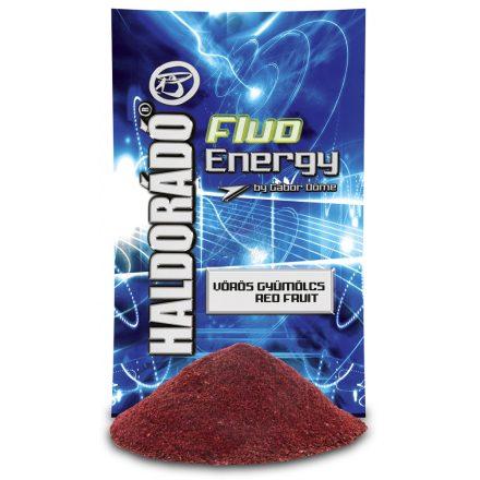 ETETŐANYAG Haldorádó Fluo Energy 800g Vörös Gyümölcs
