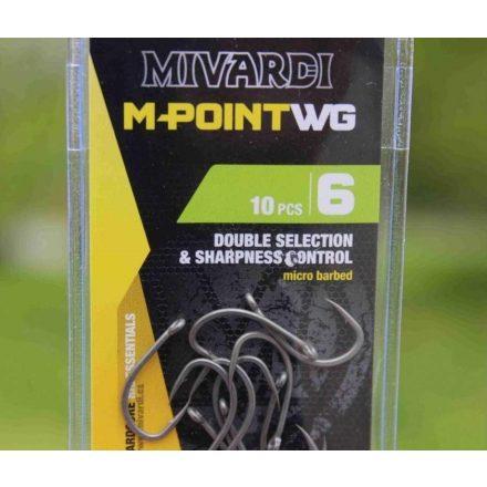 Mivardi M-Point WG Szakáll nélküli horog Méret: 6B