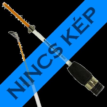 Cormoran K-Don Jumper S11 Gumihal 7,5cm 4 db/cs (Yellow Shad (világoszöld)
