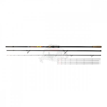 Benzar | No Limit Method Feeder; 360 cm, 100-250 gr {3tag+5rezgő+tok}