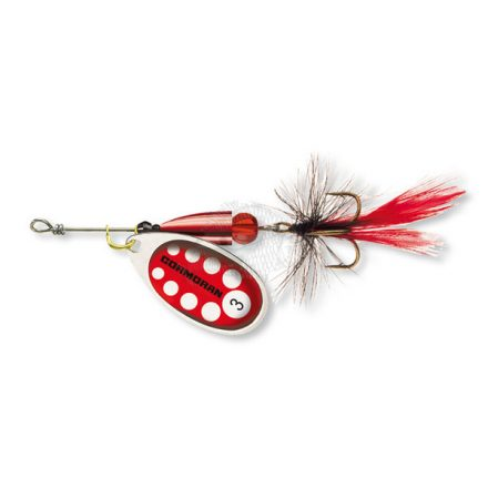 KÖRFORGÓ VILLANTÓ Cormoran Bullet Longcast  #4 (12,5 gr) Ezüst/Piros léggyel