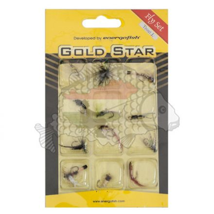 Gold Star Fly Set Műlégy szett