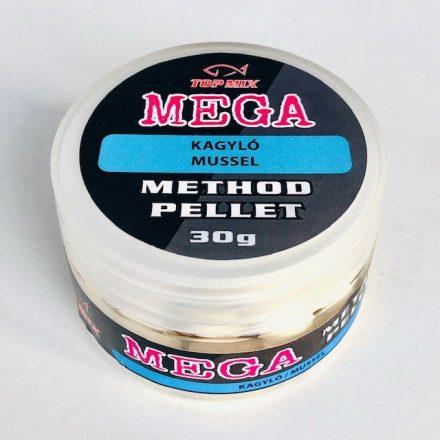 Top Mix Mega Method lebegő pellet 50gr Kagyló