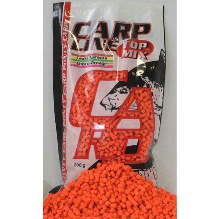ETETŐPELLET Top Mix Carp Line fluo pellet 800g Csoki-Narancs