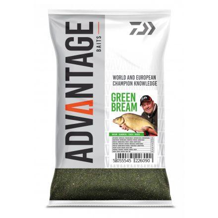ETETŐANYAG Daiwa   Advantage; 1000 gr, Green Bream