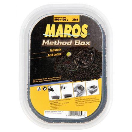 PELLET BOX Maros Mix Method 500gr+100ml Méz