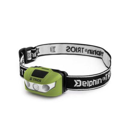 Delphin TRIOS fejlámpa, 1W