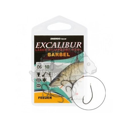 HOROG EnergoTeam Excalibur BARBEL feeder 10db #1