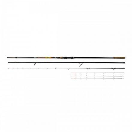 Benzar | No Limit Method Feeder; 420 cm, 100-250 gr {3tag+5rezgő+tok}
