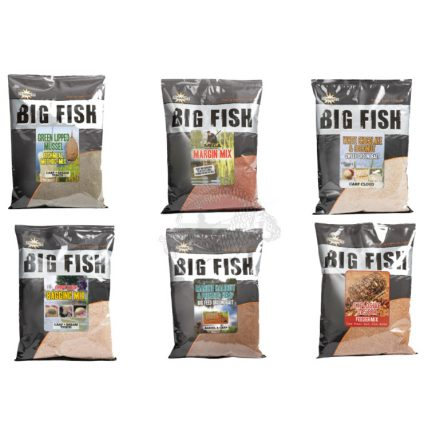 ETETŐANYAG Dynamite Baits BIG FISH 1,8Kg GLM (Zöldajkú kagyló)