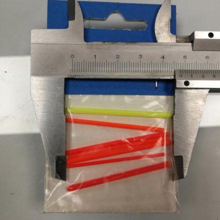 Zadravec bóbita/antenna úszóhoz 2x1,5mm; 2x2mm; 2x2,5mm